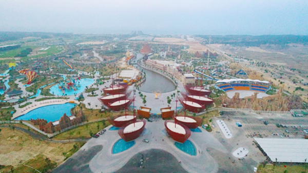 Hoàn thành 2 công viên nước theo đúng cam kết HVC đã bàn giao cho chủ đầu tư đưa vào sử dụng