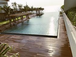 Bể bơi vô cực – Dự án Dusit Princess Moonrise Beach Resort