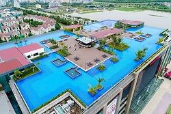 Dự án bể bơi vô cực Vincom Plaza Long Biên