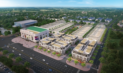 HVC ký hợp đồng tổng thầu cơ điện hạ tầng dự án tổ hợp trung tâm thương mại Vincom Plaza và nhà phố
