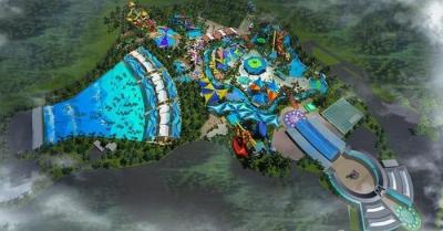 Công viên nước dự án Thành phố du lịch Sơn Tiên - Công viên nước lớn nhất Đông Nam Á