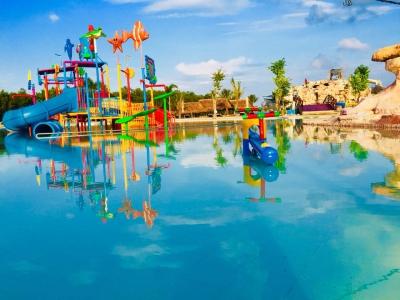 Dự án công viên nước khu sinh thái, nghỉ dưỡng tắm bùn suối nước nóng Nghĩa Thuận