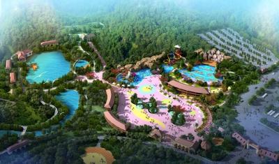 Dự án công viên nước Khu du lịch Cáp treo Núi Cấm (An Giang)