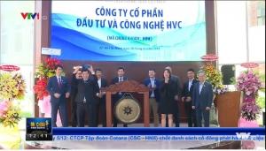 HVC Group niêm yết trên sàn giao dịch chứng khoán Thành phố Hồ Chí Minh (HoSE)