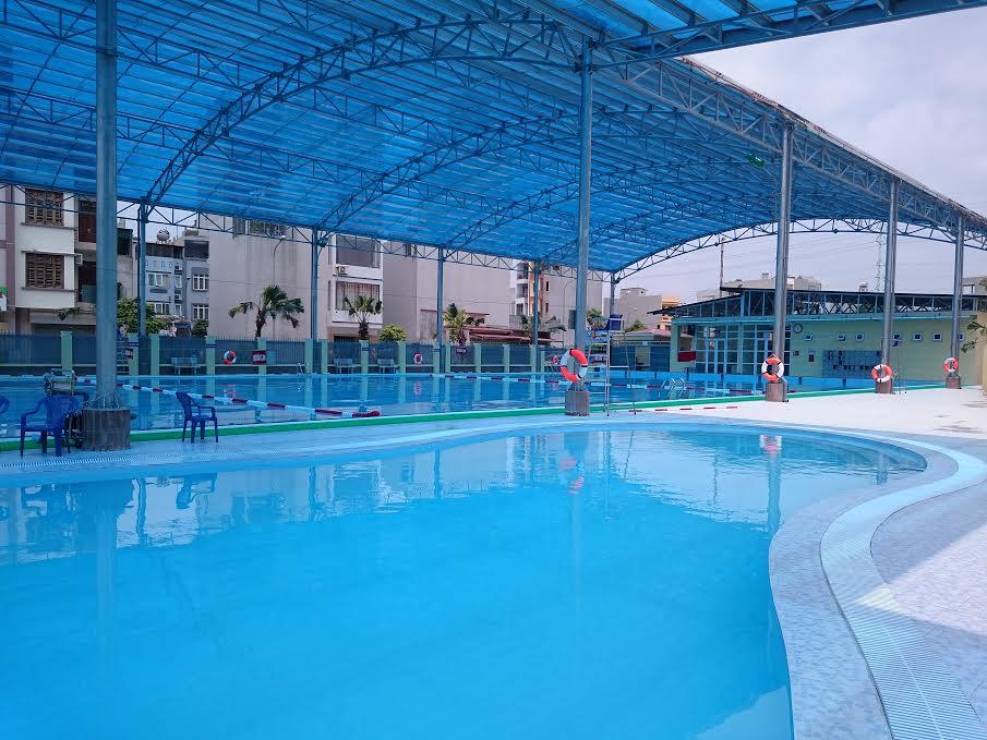 Thiết kế bể bơi kinh doanh thu hút khách hàng