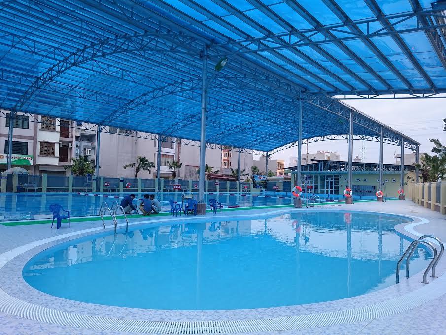 Xây dựng bể bơi kinh doanh - hạng mục đầu tư quan trọng