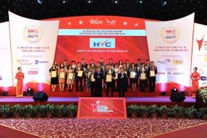 HVC Group nhận chứng nhận vinh danh Top 500 doanh nghiệp lợi nhuận tốt nhất Việt Nam năm 2019
